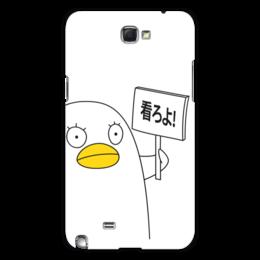 "Чехол для Samsung Galaxy Note 2 ""Гинтама. Элизабет"" - аниме, манга, элизабет, gintama, гинтама"