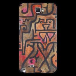 """Чехол для Samsung Galaxy Note 2 """"Лесные ведьмы (Пауль Клее)"""" - картина, живопись, клее"""