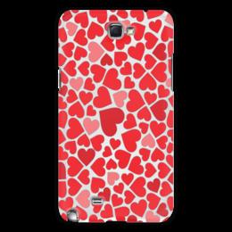 """Чехол для Samsung Galaxy Note 2 """"Любовь"""" - сердце, любовь, символ"""