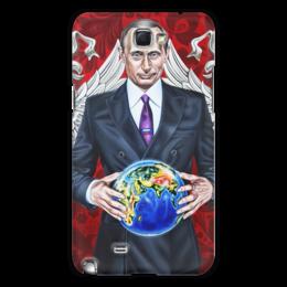 "Чехол для Samsung Galaxy Note 2 ""Big Boss "" - мир, россия, политика, путин, власть"
