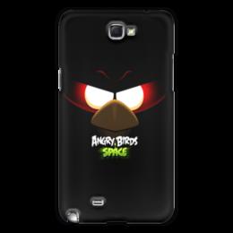 "Чехол для Samsung Galaxy Note 2 ""Space (Angry Birds)"" - space, игра, мультфильм, птица, angry birds"