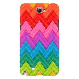 """Чехол для Samsung Galaxy Note 2 """"Papercraft style"""" - абстракция, геометрия, линии, papercraft"""