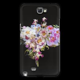 """Чехол для Samsung Galaxy Note 2 """"Цветочный букет."""" - цветы, flowers, живопись, букет"""
