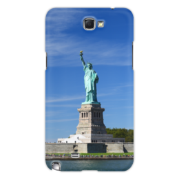 "Чехол для Samsung Galaxy Note 2 ""Статуя Свободы"" - нью-йорк, америка, статуя свободы"