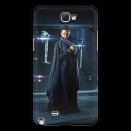 """Чехол для Samsung Galaxy Note 2 """"Звездные войны - Лея"""" - кино, фантастика, star wars, звездные войны, дарт вейдер"""
