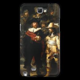 "Чехол для Samsung Galaxy Note 2 ""Ночной дозор (картина Рембрандта)"" - картина, рембранд"
