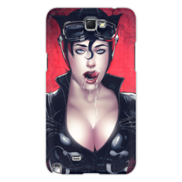 "Чехол для Samsung Galaxy Note 2 ""Catwoman"" - девушка, girl, женщина-кошка, catwoman"