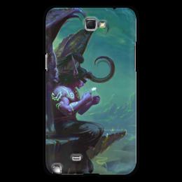 "Чехол для Samsung Galaxy Note 2 ""WarCraft Collection: illidan"" - warcraft, варкрафт, wow, world of warcraft, illidan"