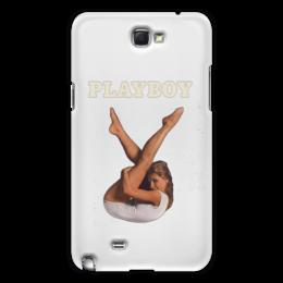 """Чехол для Samsung Galaxy Note 2 """"Playboy Девушка"""" - плейбой, плэйбой, девушка, playboy"""