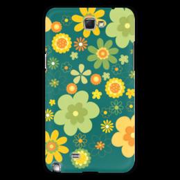 """Чехол для Samsung Galaxy Note 2 """"Хиппи"""" - цветы, философия, хиппи, мировозрение"""