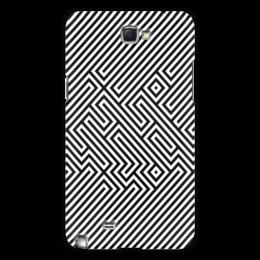 "Чехол для Samsung Galaxy Note 2 ""Space Inviders Note2"" - игры, стиль, ретро, графика, оригинально, популярные игры, dendy, space inviders"