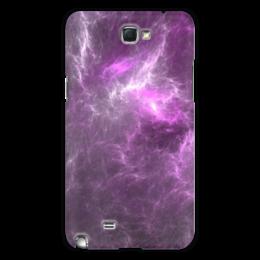 """Чехол для Samsung Galaxy Note 2 """"Абстрактный дизайн"""" - графика, абстракция, авангард, фрактал, лучи"""