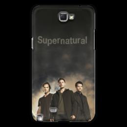 """Чехол для Samsung Galaxy Note 2 """"Supernatural"""" - supernatural, сверхестественное"""