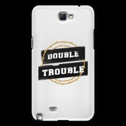 """Чехол для Samsung Galaxy Note 2 """"Double Trouble"""" - молодежь, стиль, улица, хулиган, дерзкий"""