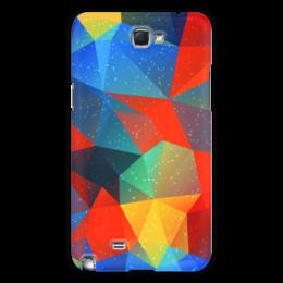 """Чехол для Samsung Galaxy Note 2 """"Абстракция"""" - узор, стиль, рисунок, абстракция, абстрактный"""