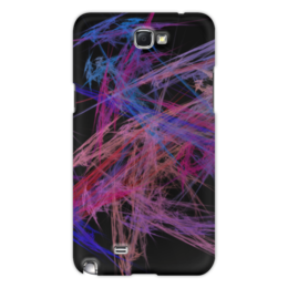 """Чехол для Samsung Galaxy Note 2 """"Абстрактный дизайн"""" - графика, абстракция, лучи, авангард, линии"""