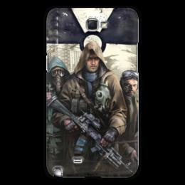 "Чехол для Samsung Galaxy Note 2 ""S.T.A.L.K.E.R. Чистое небо"" - игра, сталкер, stalker, чистое небо"
