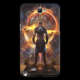 """Чехол для Samsung Galaxy Note 2 """"Starpoint Gemini Warlords"""" - starpoint gemini warlords, планета, космос, взрыв, компьютерная игра"""