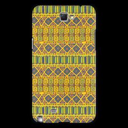 """Чехол для Samsung Galaxy Note 2 """"Стиль Бохо"""" - узоры, орнамент, абстракция, бохо"""