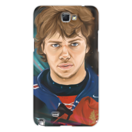 """Чехол для Samsung Galaxy Note 2 """"Артемий Панарин"""" - хоккей, нхл, сборная россии по хоккею, артемий панарин"""