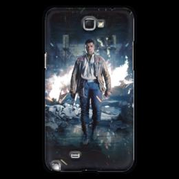 """Чехол для Samsung Galaxy Note 2 """"Звездные войны - Финн"""" - звездные войны, фантастика, кино, дарт вейдер, star wars"""