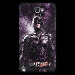 """Чехол для Samsung Galaxy Note 2 """"Batman """" - арт, comics, night, комиксы, batman, в подарок, герой, бэтмен, rain, dc"""