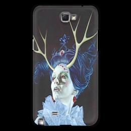 """Чехол для Samsung Galaxy Note 2 """"холодная леди"""" - готика, арт, красиво, ужас, популярные, леди"""