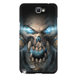 "Чехол для Samsung Galaxy Note 2 ""WarCraft Collection"" - wow, warcraft, world of warcraft, варкрафт, нежить"