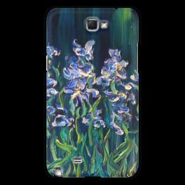 """Чехол для Samsung Galaxy Note 2 """"Ирисы"""" - цветы, весна, счастье, spring"""