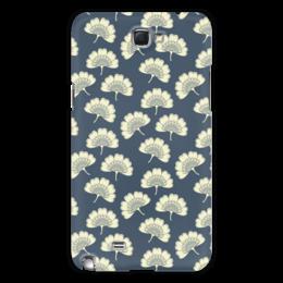 """Чехол для Samsung Galaxy Note 2 """"Цветочный"""" - цветы, узор, стиль, орнамент, риснок"""