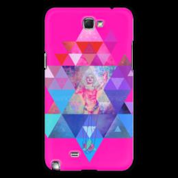 "Чехол для Samsung Galaxy Note 2 """"HIPSTA SWAG"" collection: Marilyn Monroe"" - marilyn monroe, мэрилин монро, swag, свэг"