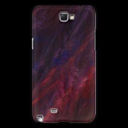 """Чехол для Samsung Galaxy Note 2 """"Абстрактный дизайн"""" - графика, абстракция, линии, авангард, лучи"""