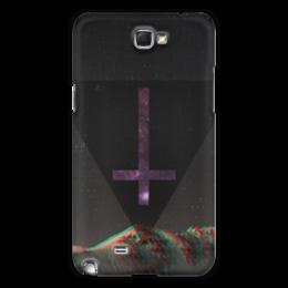 "Чехол для Samsung Galaxy Note 2 ""крест"" - арт, крест"