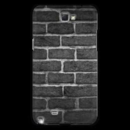 "Чехол для Samsung Galaxy Note 2 ""Кирпичный"" - арт, узор, стена, камень, кирпич"