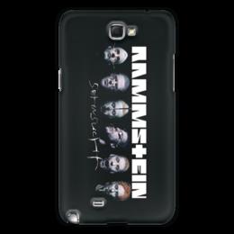 "Чехол для Samsung Galaxy Note 2 ""Rammstein"" - metal, рок, hard rock, rammstein, рамштайн"