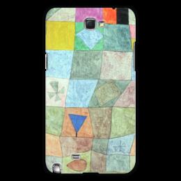 """Чехол для Samsung Galaxy Note 2 """"Товарищеский матч"""" - картина, клее"""