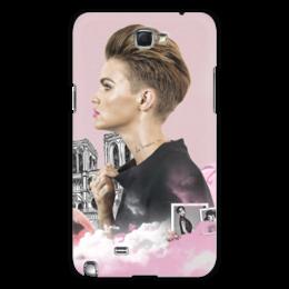 "Чехол для Samsung Galaxy Note 2 ""Ruby Rose Samsung Galaxy NOTE 2"" - rubyrose, рубироуз, оранжевыйхитсезона, orangeisnewblack, лесбиянка"