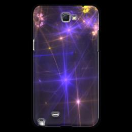 "Чехол для Samsung Galaxy Note 2 ""Световая фантазия"" - абстракция, свет, фантазия"