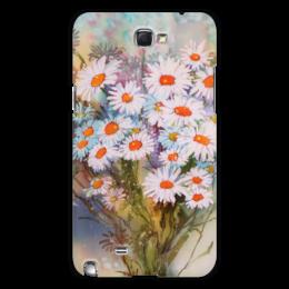 """Чехол для Samsung Galaxy Note 2 """"Ромашки."""" - цветы, flowers, ромашки, полевые цветы, daisies"""