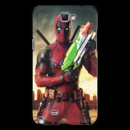 "Чехол для Samsung Galaxy Note 2 ""Deadpool"" - супергерой, marvel, марвел, убийца, дэдпул"