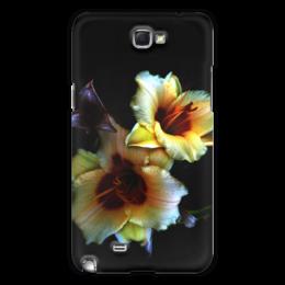 """Чехол для Samsung Galaxy Note 2 """"Лилии"""" - арт, цветы, фото, лилии"""