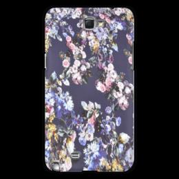 """Чехол для Samsung Galaxy Note 2 """"цветы"""" - цветы, цветочный, розы, девочка"""