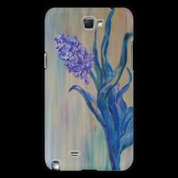 "Чехол для Samsung Galaxy Note 2 ""Гиацинт"" - flower, весна, гиацинт"
