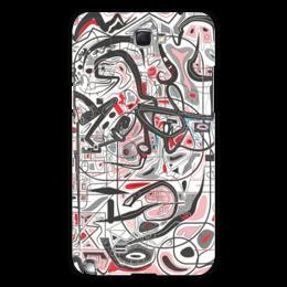 "Чехол для Samsung Galaxy Note 2 ""Mamewax"" - арт, узор, абстракция, фигуры, медитация"