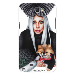 "Чехол для Samsung Galaxy Note 2 ""Lady Gaga"" - музыка, арт, music, стиль, gaga, иллюстрация, lady gaga, гага"