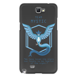 "Чехол для Samsung Galaxy Note 2 ""Team Mystic"" - мультфильм, pokemon, покемон, мистик, mystic"