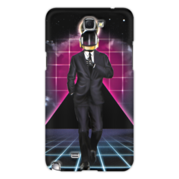 "Чехол для Samsung Galaxy Note 2 ""Daft punk"" - арт, daft punk"