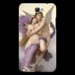 "Чехол для Samsung Galaxy Note 2 ""Похищение Психеи (Вильям Бугро)"" - картина, искусство, масло, купидон, бугро"