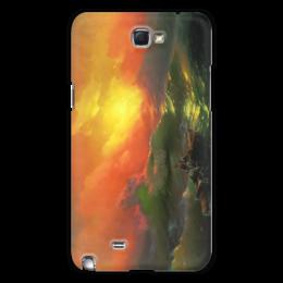 "Чехол для Samsung Galaxy Note 2 ""Девятый вал (картина Айвазовского)"" - картина, айвазовский"