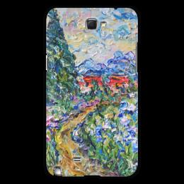"Чехол для Samsung Galaxy Note 2 ""Италия"" - красиво, весна, горы, bloom, spring"